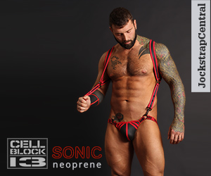 Cellblock 13 Sonic Jockstraps and Harnesses