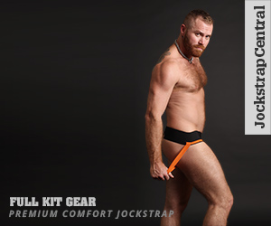 Full Kit Gear Orange and Green Jockstraps