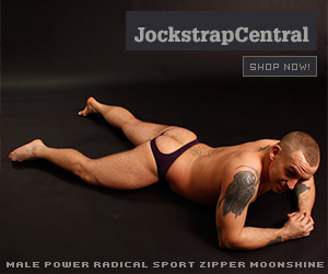 Male Power Radical Sport Zipper Jock and Short