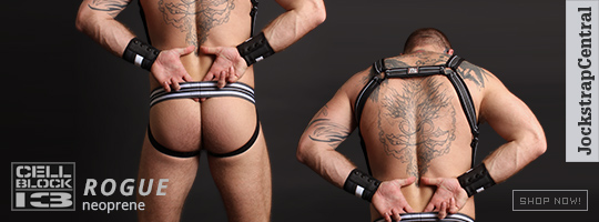 Cellblock 13 Rogue Jockstraps Harnesses and Cuffs