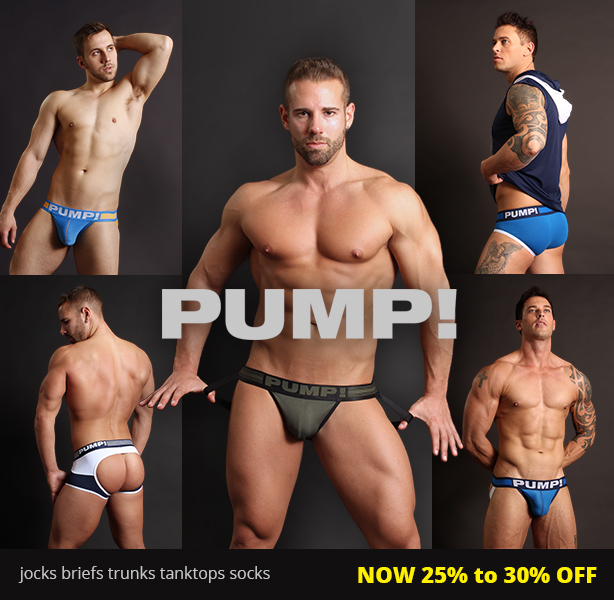 PUMP! Now 25% to 30% Off