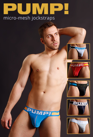 PUMP! Micromesh Jockstrap Underwear and Socks