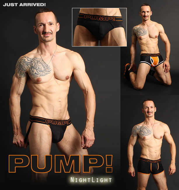 PUMP! Nighlight Jockstraps and Underwear