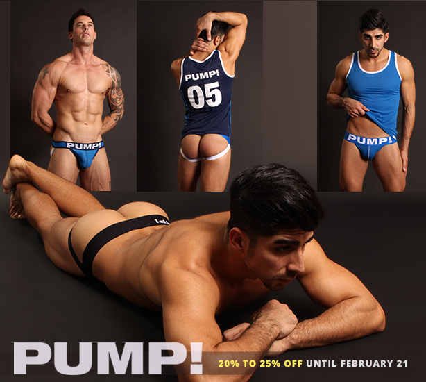 PUMP! Sale - 20% to 25% Off Everything