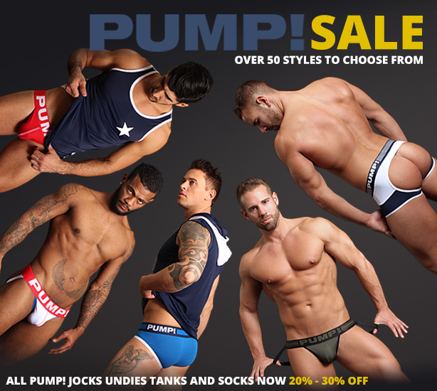 PUMP! Sale - 20% to 30% Off All PUMP! Gear