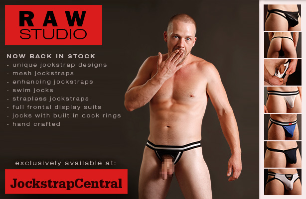 Jockstrap Central exclusive Raw Studio now back in stock!