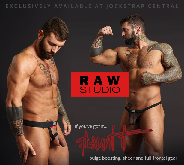 Raw Studio Flaunt It Bulge Boosting and Full-frontal Gear