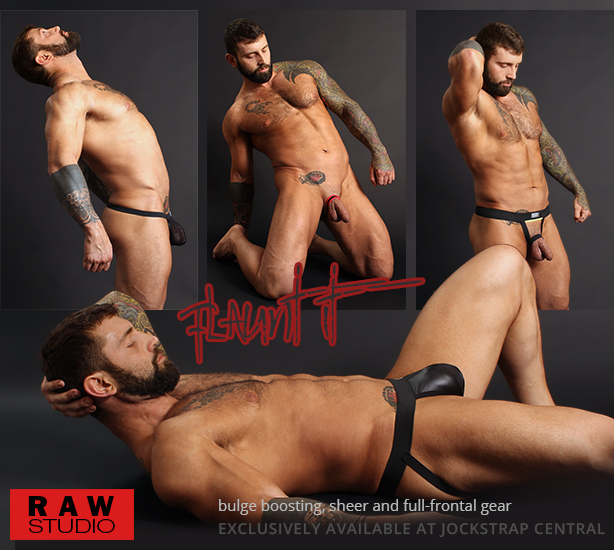 Raw Studio Flaunt It Jocks, Bulge-boosters and Stapless Socks