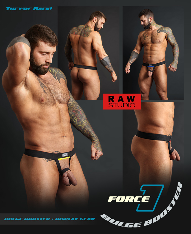 Raw Studio Force 1 Bulge Boosters are Back