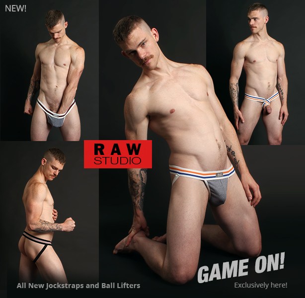 Raw Studio Game On Jockstraps and Ball Lifters