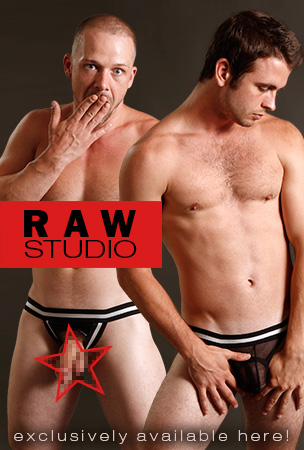 Raw Studio Jockstraps, Mesh Gear and Ball Lifters