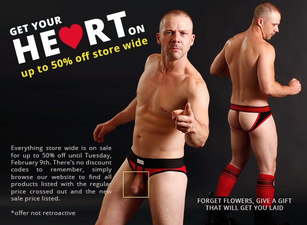 Get Your Heart On Sale - Up to 50% off store wide