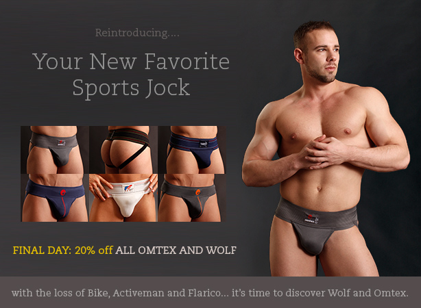 Wolf and Omtex Jockstraps